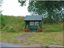 SK1820 : Bus stop, Dunstall by Oliver Dixon