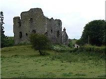 NO3221 : Creich Castle by James Allan