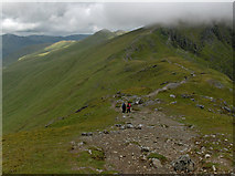 NN6240 : Beinn Ghlas to Ben Lawers ridge by Andrew Smith