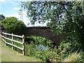 SJ9007 : Bridge over River Penk by Geoff Pick