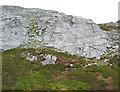 L7656 : Limestone crags on Benbrack by Espresso Addict