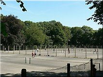 SE3238 : Tennis courts, Old Park Road, Roundhay, Leeds by Rich Tea