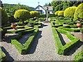 SD3791 : The Dutch garden, Graythwaite Hall by Oliver Dixon