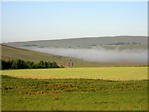 NY9191 : Fields at Monkridge by Iain Thompson