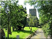 NY7287 : St Peter's Church Falstone by Iain Thompson
