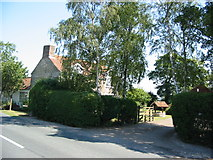 SE7380 : Bennison's Cottage near Normanby by Phil Catterall