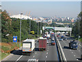 TQ4077 : Rush hour on the A102 by Stephen Craven
