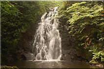 J3996 : Glenoe waterfall (2) by Albert Bridge
