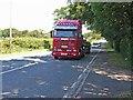 NY3552 : A595 near Orton Grange by Oliver Dixon