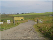 NB4533 : Stornoway Airport Perimeter by Donald Lawson