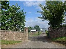 NH5757 : Urquhart new burial ground by Brian MacLennan