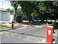 SJ9926 : Main entrance to Hixon Industrial Estate, Hixon, Staffordshire. by Alan Slater