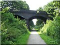 SJ7559 : Wheelock Rail Trail by Steve Lewin