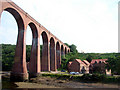 NZ8909 : Scarborough & Whitby Railway Viaduct by John Lucas