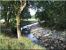 NY2101 : River Esk. by Steve Partridge