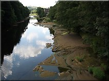 NY5046 : River Eden from Armathwaite Bridge by John Gibson