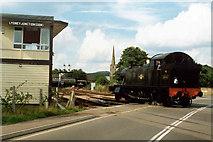 SO6302 : Lydney Junction Signal Box by Neil Kennedy