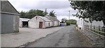 C3303 : Road at Tironeill by Kenneth  Allen
