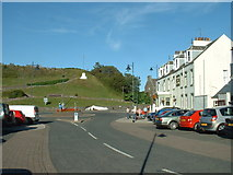 NX3343 : Port William Square by David Medcalf