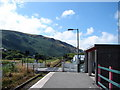 SH6112 : Level Crossing at Fairbourne Station by John Lucas