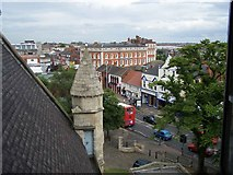 TA2609 : View from Ringing Room in St. James Church by Geoff Pick