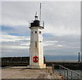 NO5603 : Chalmers Lighthouse by David  Greenhalgh