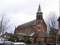 TQ2572 : St Luke's church, Farquhar Road by Stephen Craven