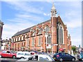 TQ3268 : St Alban's church, Grange Road by Stephen Craven
