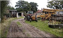 SE6691 : Farmyard, Common House by Mick Garratt