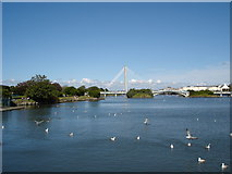 SD3317 : Southport Marine Lake by alan halfpenny