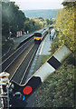 SK2578 : Off signal at Grindleford by Stephen Craven