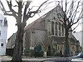 TQ1875 : Christ Church Flats, Kew Road by Stephen Craven