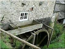 SY1988 : Water Wheel, Manor Mill, Branscombe by Rich Tea
