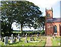 SJ5740 : Graveyard at Christ Church, Ash by Espresso Addict