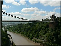 ST5673 : Clifton Suspension Bridge from St Vincents Cave by Rich Tea