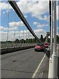 ST5673 : The deck of Clifton Suspension Bridge by Rich Tea