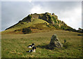 SH7879 : Castell Deganwy Castle by Jonathan Wilkins