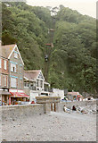 SS7249 : Lynmouth, The Cliff Railway by Neil Kennedy