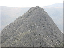 SH6659 : The Summit of Tryfan by Eric Jones