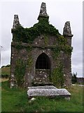 N6834 : Ruined mausoleum and graves, Carbury, Co. Kildare by Adam Quinan