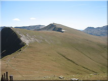 SH6261 : Meeting of Paths at Bwlch y Brecan by Eric Jones