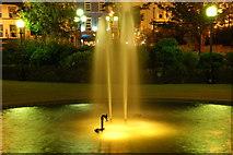 J5081 : Fountain near Queen's Parade, Bangor by Albert Bridge