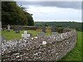 SX7546 : Churchyard, Buckland-Tout-Saints by Derek Harper