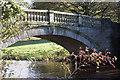 NS5461 : Pollok House Bridge by Iain McKenzie