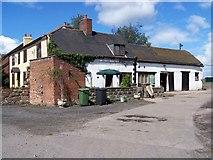 SJ6629 : House in Wistanswick by Geoff Pick