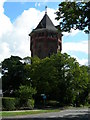 TQ4376 : Water Tower on Shooters Hill by Danny P Robinson
