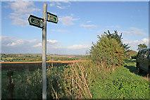 SK9202 : Bridleway near North Luffenham by Kate Jewell