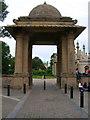 TQ3104 : South Gate, Royal Pavilion by Simon Carey