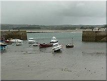 SW5130 : The Harbour, St Michael's Mount by Rich Tea