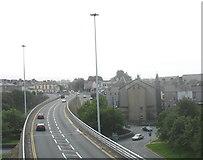 SH4862 : Looking South Along the Inner Ring Road Flyover by Eric Jones